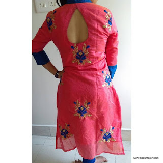 designs of neck of kurtis