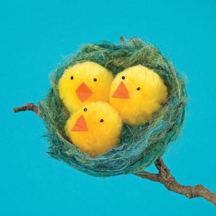 Nest o' Fluffy Chicks