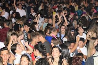 DJ Gaua en las fiestas de Barakaldo