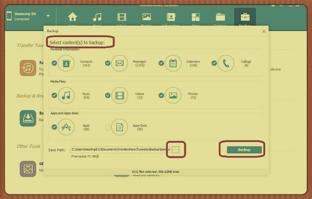 5 برامج لعمل نسخة إحتياطية لهاتف الأندرويد backup وكيفية حفظها وإسترجاعها