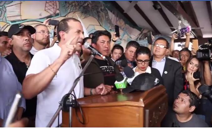 """Cívicos piden parar violencia: """"No demos pretexto (al Gobierno) para militarizar"""" #Bolivia"""
