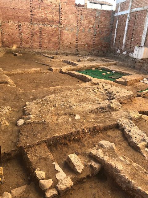 Nueva excavación arqueológica de Martos