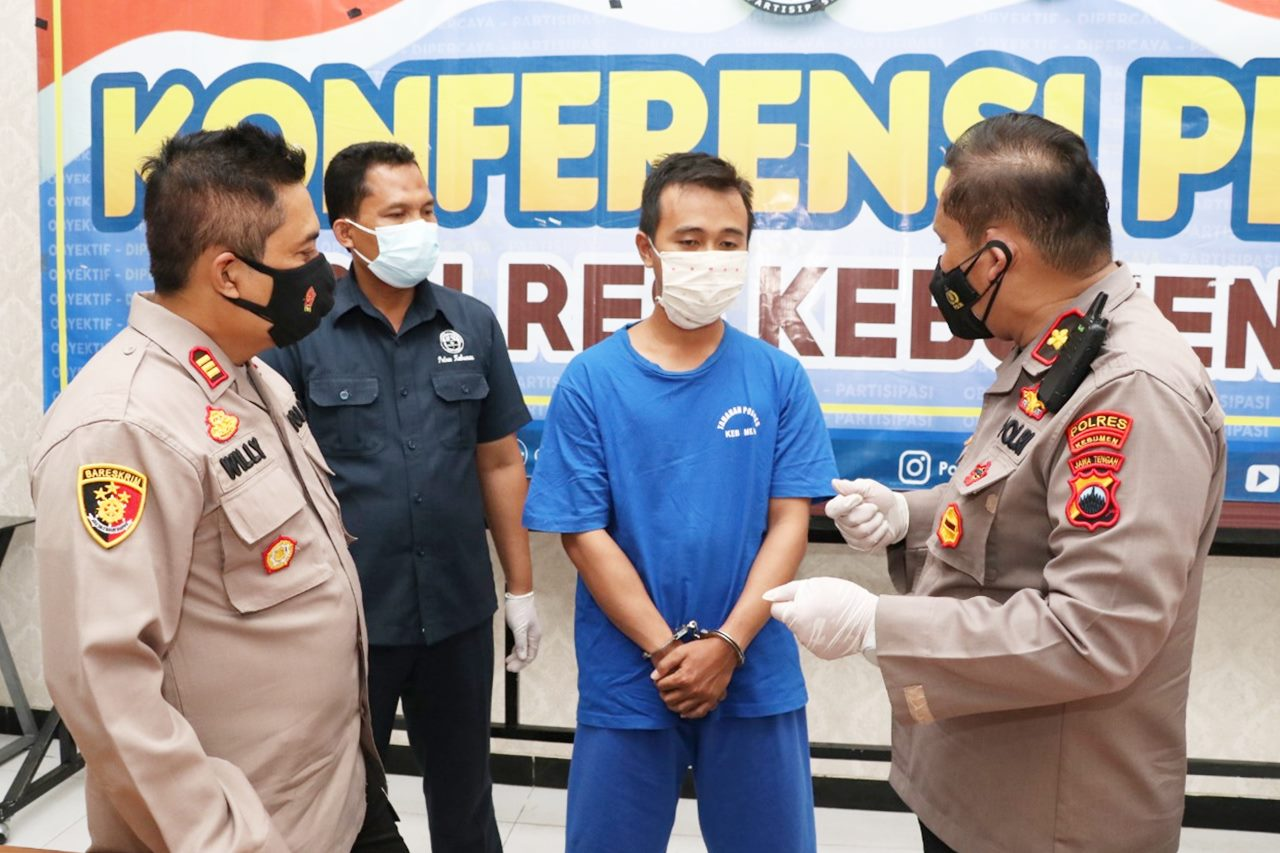 Sempat Kabur ke Kalimantan, Polsek Gombong Berhasil Tangkap Tersangka di Wonosobo