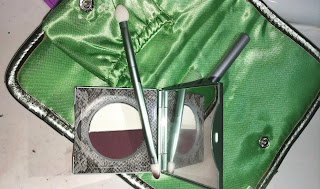 Mally 24/7 Eye Lining System review Plum eyeliner powder kit