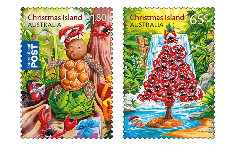 Christmas In Australia Date.Collectorzpedia Australia 2015christmas Island Christmas 2015