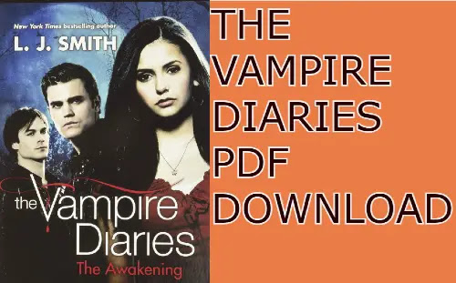 The vampire diaries books pdf