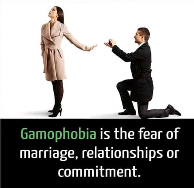 Terrified of getting married or stay committed to a relationship