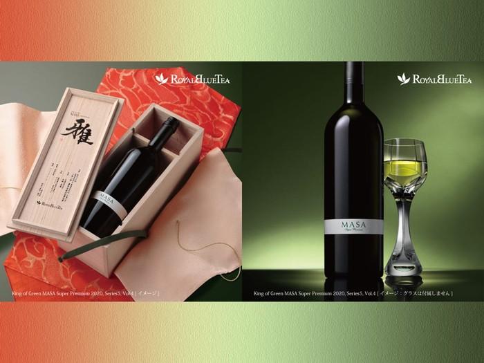 Super Mewah! Teh Hijau dalam Botol Wine Ini Dijual Seharga Rp 45 Juta