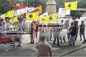 [VIDEO] KSBSI Sulut Demo Tolak Omnibus Law Tuding MELKY PANGEMANAN Menipu