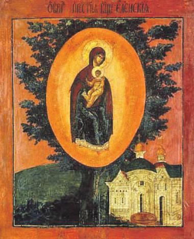 Чернигов. Елецкий монастырь. Святой образ Елецкой Божией Матери