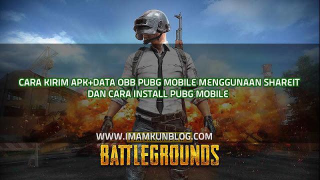 Cara Kirim APK+Data OBB PUBG Mobile Lewat Shareit