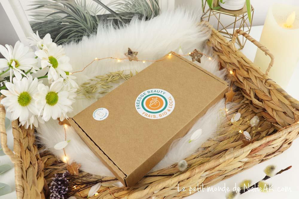 Freedge Beauty  soins visages bio, frais, local et de saison