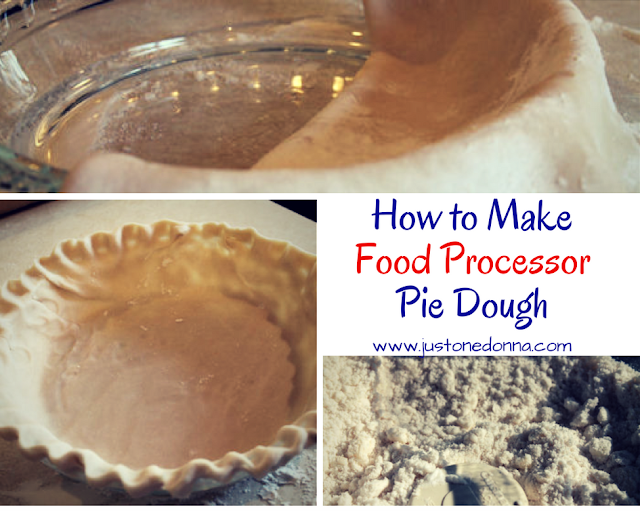 How to Make Food Processor Pie Dough