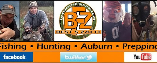 Best5Zach Outdoors: Best5Zach's Best 5 SEC Coaches