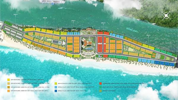 sơ đồ mặt bằng tổng thể dự án Habama Island Hồ Tràm