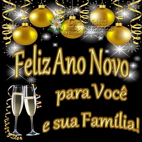 Feliz Ano Novo  pata Você e sua Família!