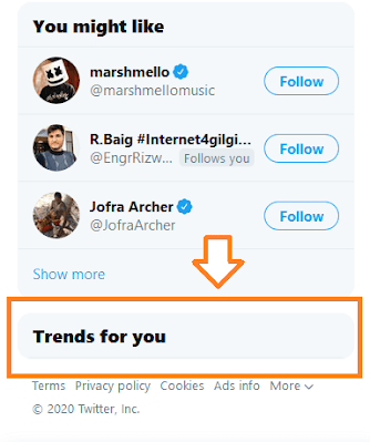 Twitter Doesn't Show Trends For You Settings Icon   Change Twitter Trends Location