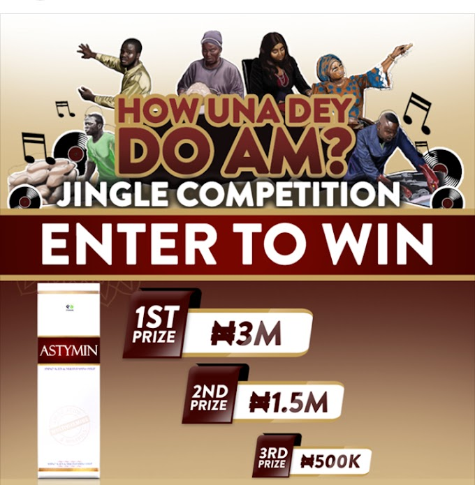 [GIST] WIN YOUR SELF 3MILLION NAIRA CASH IN THE ASTIMIN COMPETITION
