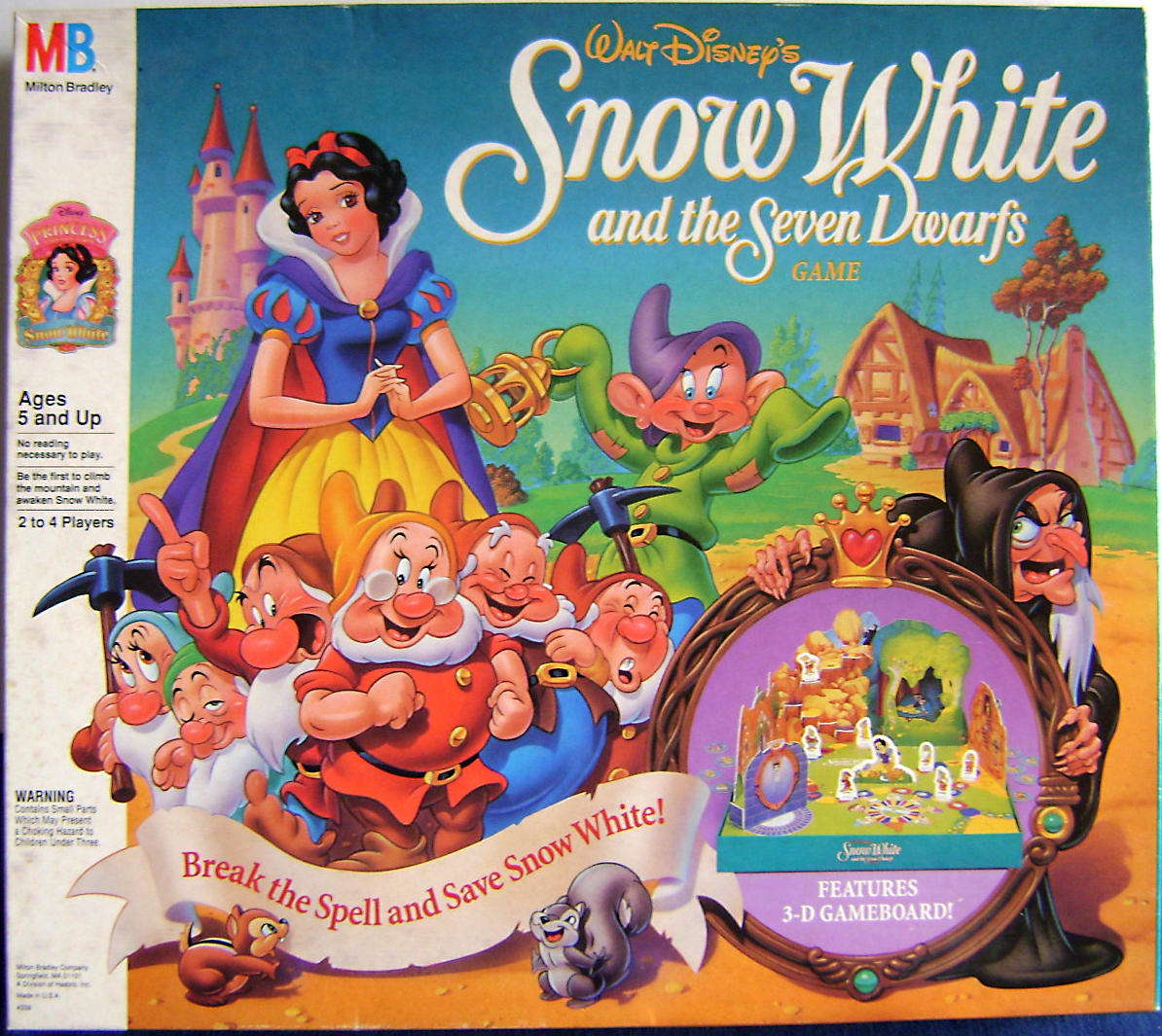 Snow White & the Seven Dwarfs: A Gemstone Mining Game ...