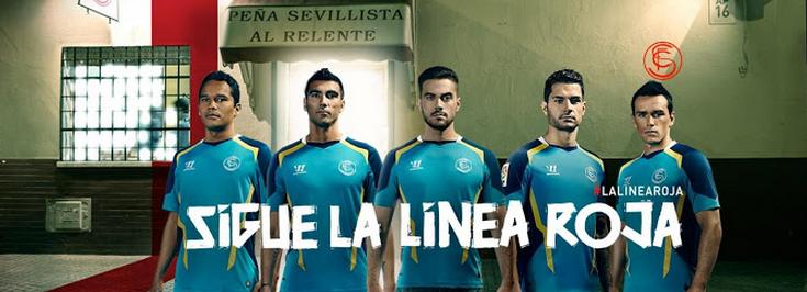 e54c2cdb50b95 Equipos de futbol 2015  nueva camiseta del sevilla 2014-2015 barata