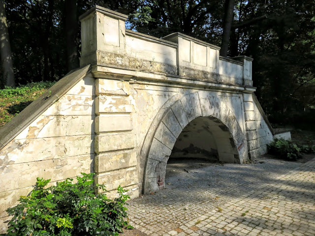 Łazienki Park in Warsaw, Poland