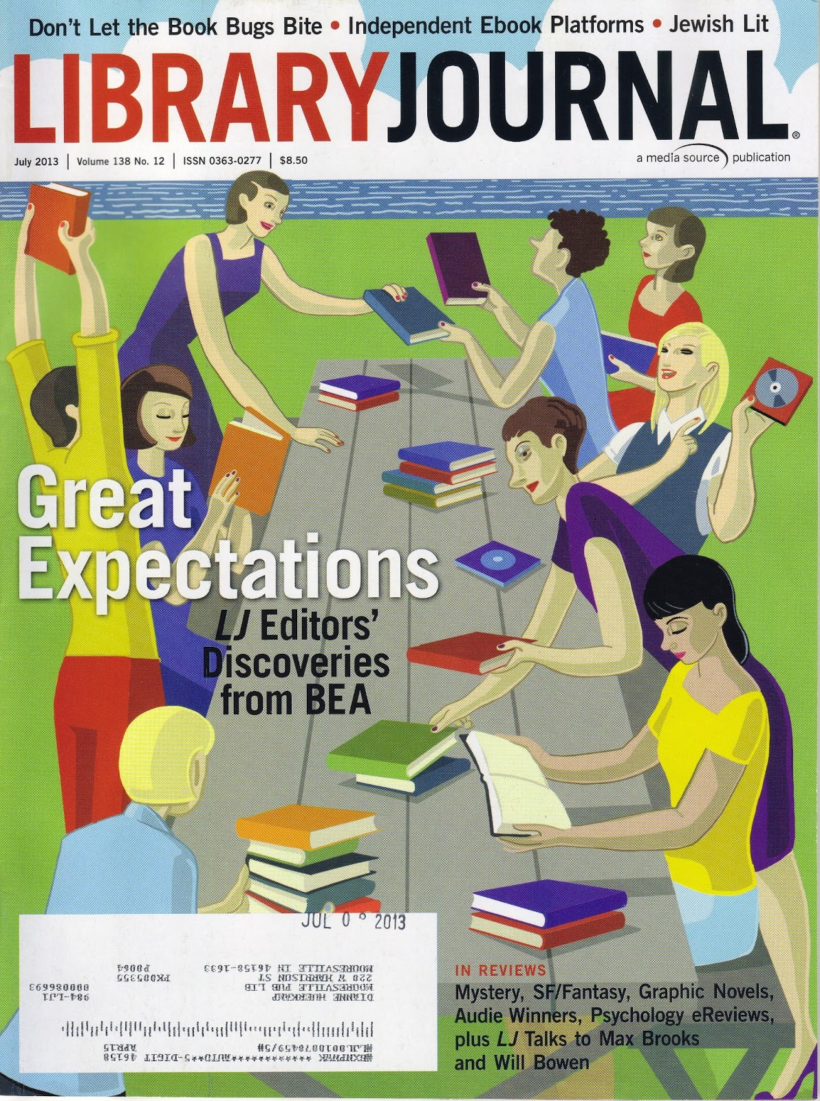 Cat39s Eye View MPL Library Journal Showcases Browser