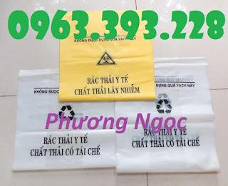 Túi rác y tế, túi đựng chất thải y tế, túi rác bệnh viện có logo y tế 005035442a15d34b8a04