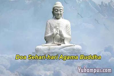 doa sehari hari agama buddha