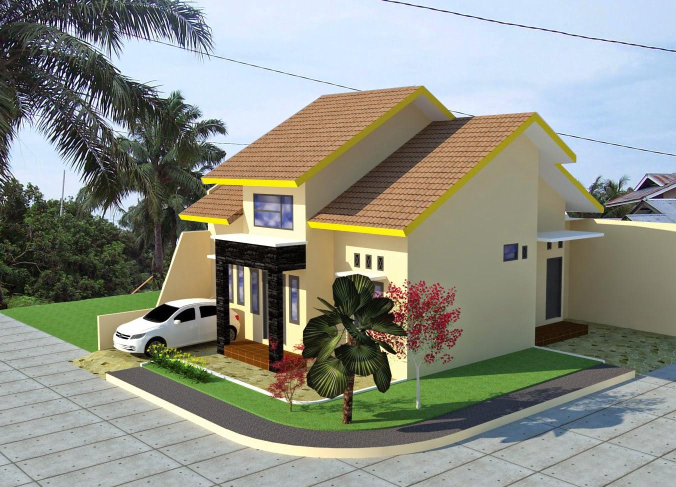 Pagar Rumah  Minimalis 2019 Desain Rumah  Minimalis Type  70