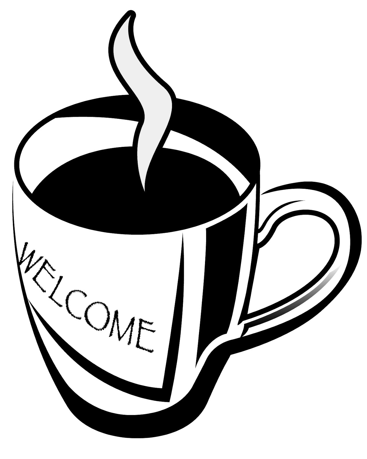 Church Graphics: Clip Art |Coffee Cup Graphic