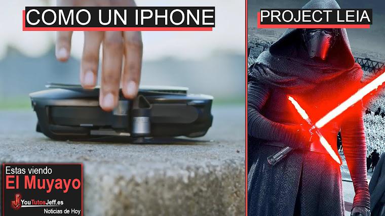 Dron del tamaño de un iPhone, Project Leia, Así se vería Windows 10, Libia   El Muyayo