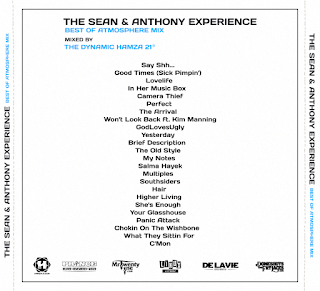 The Sean & Anthony Experience 2017.Tracklist