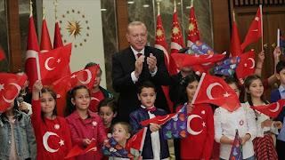 أردوغان يهنئ العالم الإسلامي والشعب التركي برمضان