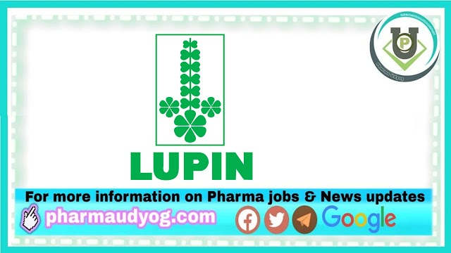 Lupin Limited | Walk-In Interview for Production/ Quality Control on 06th March 2021