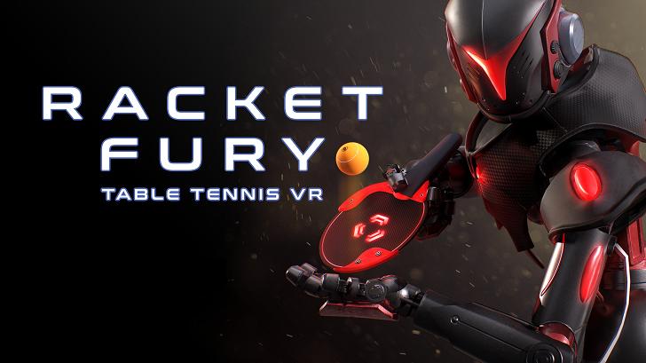 Play Racket Fury: Table Tennis VR in Quarantine