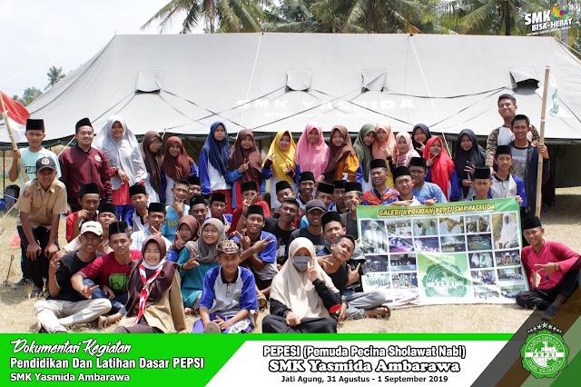 Luar Biasa PEPSI SMK Yasmida Ambarawa, Diklatsar Tahun 2019