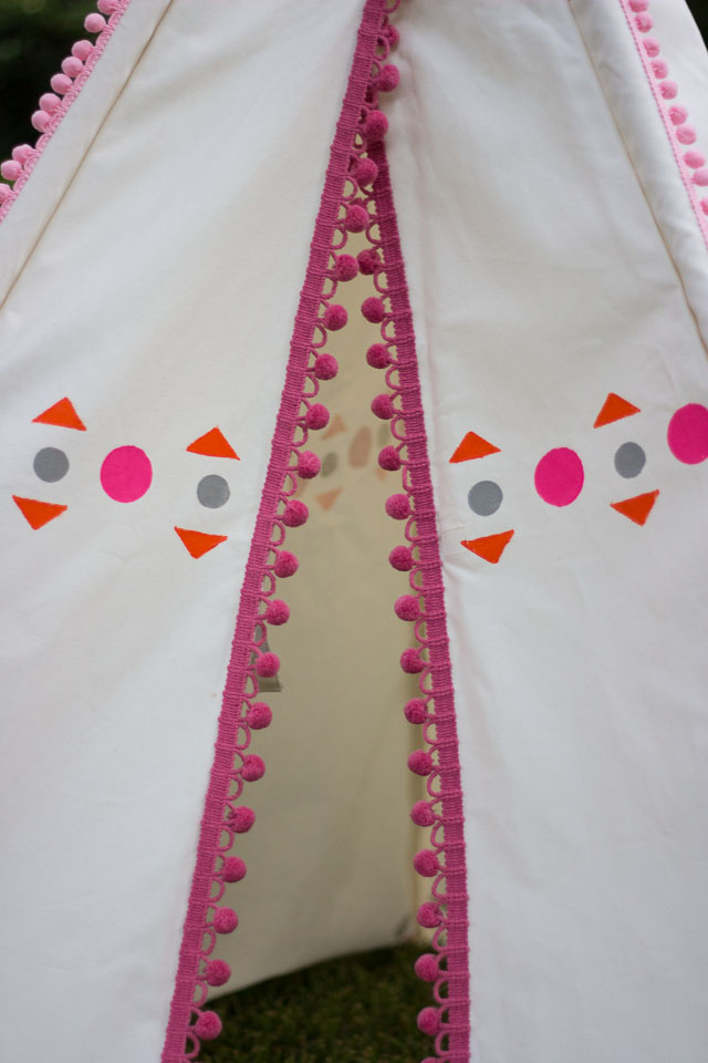 How to decorate a teepee    Design Improvised blog
