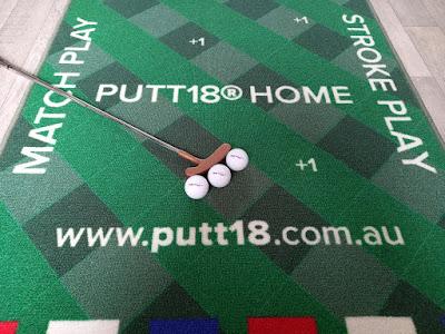 Putt18 Putting Mat Game