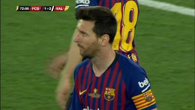 Copa Del Rey Final Barcelona 1 vs 2 Valencia 25-05-2019