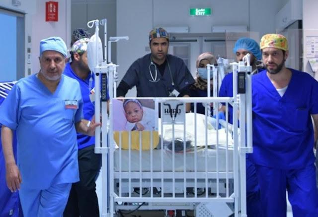 Saudi surgeons separate Tanzanian conjoined twins