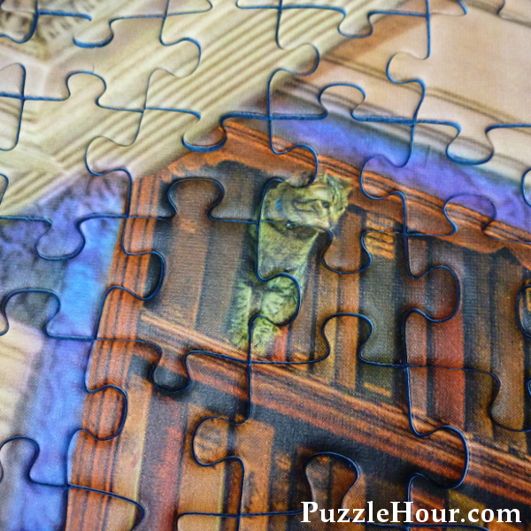 Cat amongst the books jigsaw puzzle fantasy bookshop
