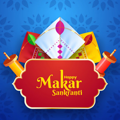 Satisfied Makar Sankranti DP