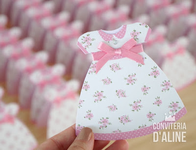 convite aniversario boneca pano provencal