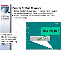 Sharp Status Monitor for Sharp MX-C381