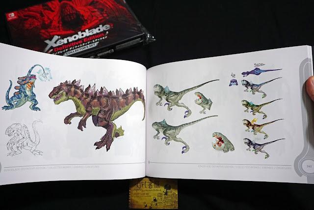 DSC01948 - 異域神劍 異度神劍 終極版 遊戲限定版畫集  ゼノブレイド ディフィニティブ・エディション / Xenoblade Definitive Edition / Xenoblade Chronicles: Definitive Edition