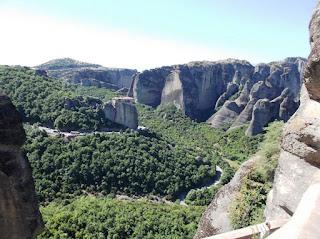 монастыри метеоры греция