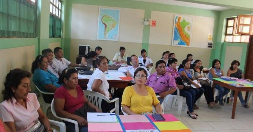 Más de 11 mil docentes de Lambayeque se incorporan a sus labores desde hoy lunes