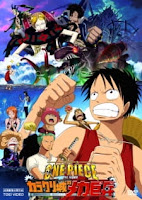 One Piece Movie 7 - Karakuri-jou no Mecha Kyohei Subtitle Indonesia