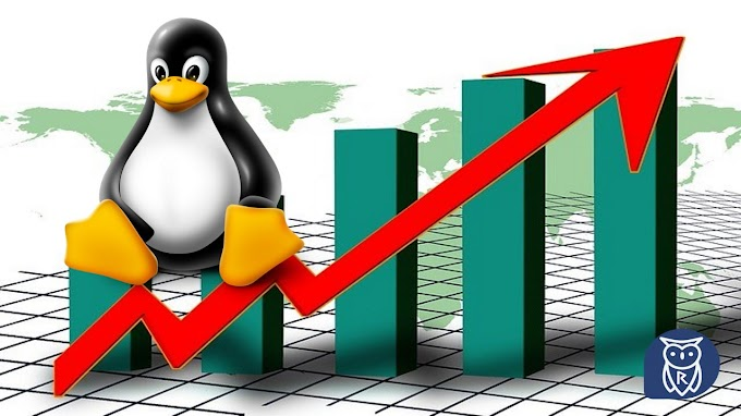 Linux cresce outra vez, aumentando o Marketing Share!