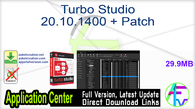 Turbo Studio 20.10.1400 + Patch